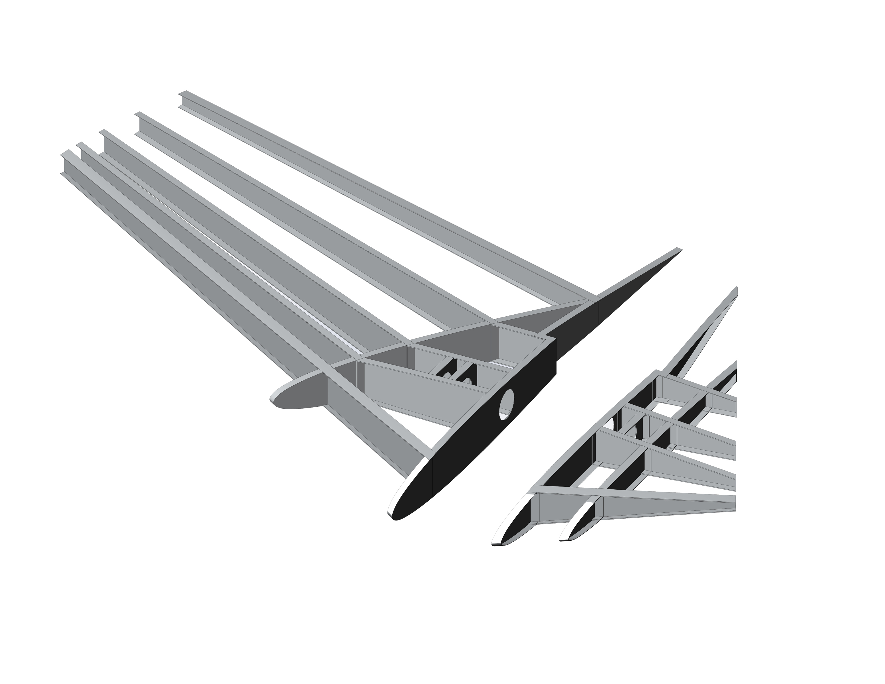 Stavatti, Stavatti Aerospace, SM-27, SM-27S, SM-27T, Machete, CAS, Horizontal Stabilizer, Tail
