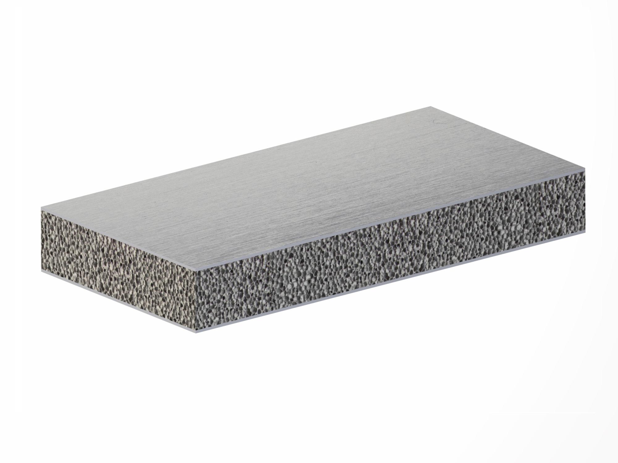 Stavatti, Aluminum Foam Metal Sandwich, Foam Metal Sandwich, Aluminum Foam, Metal Foam, Foam Metal