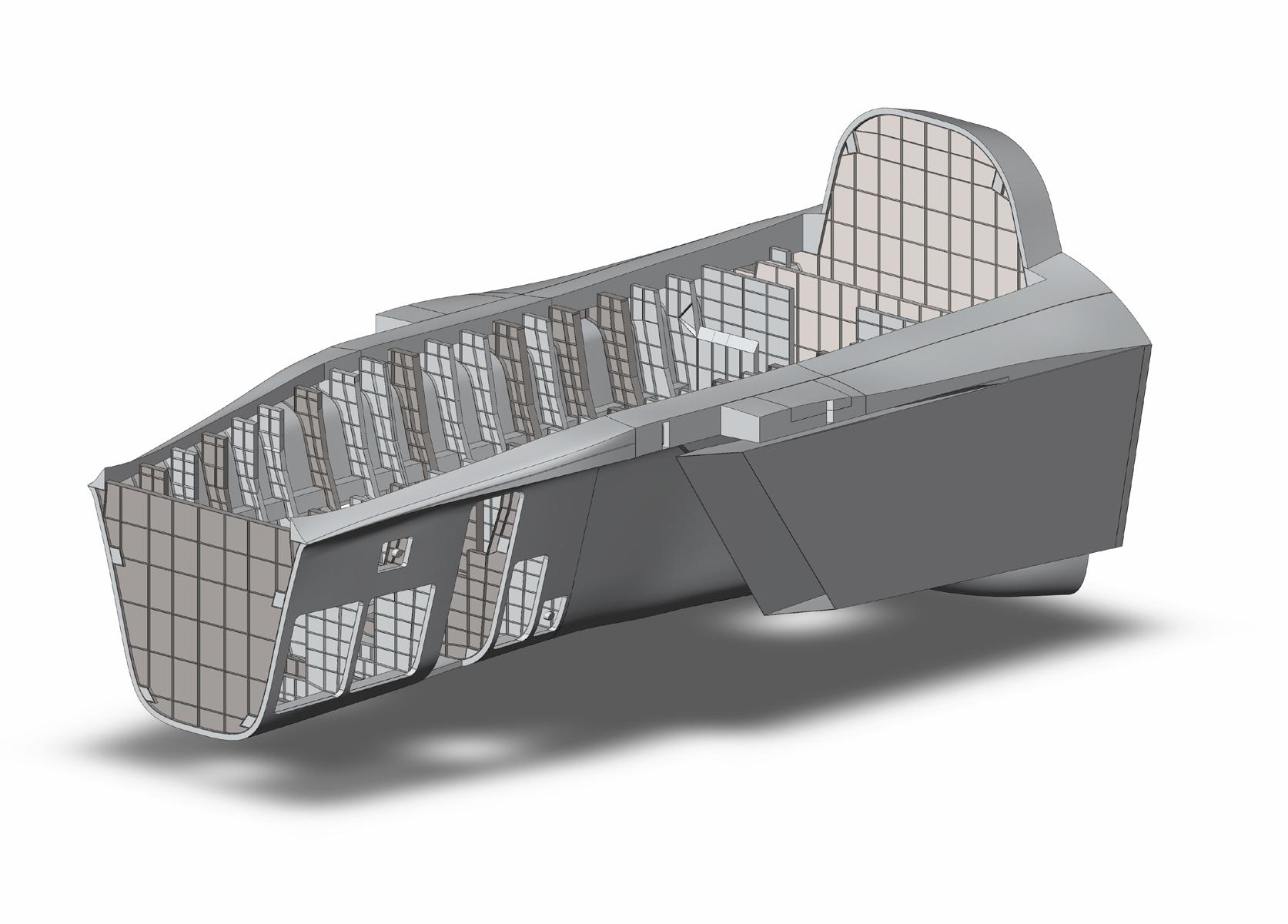 Stavatti, SM-28, Machete, Fuselage, Close Air Support, CAS